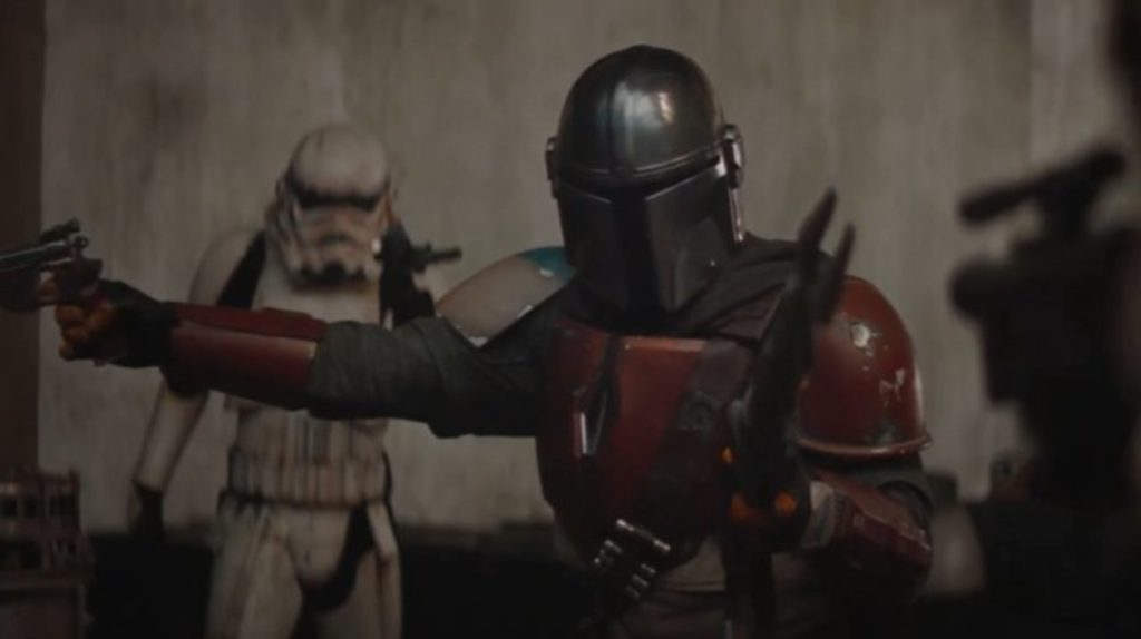 the mandalorian battle