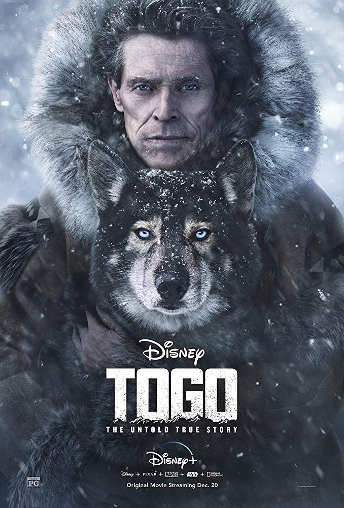 Togo Disney+ Movie Poster