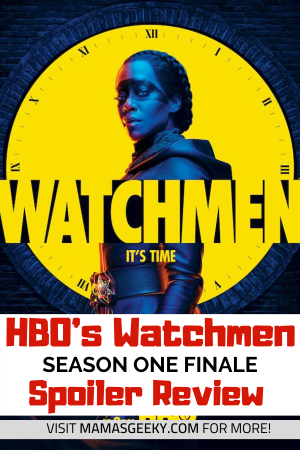 watchmen spoiler review