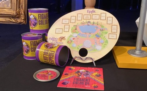 Epcot Festival of the Arts Figment Painting Prize