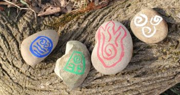 Avatar Elemental Rock Painting