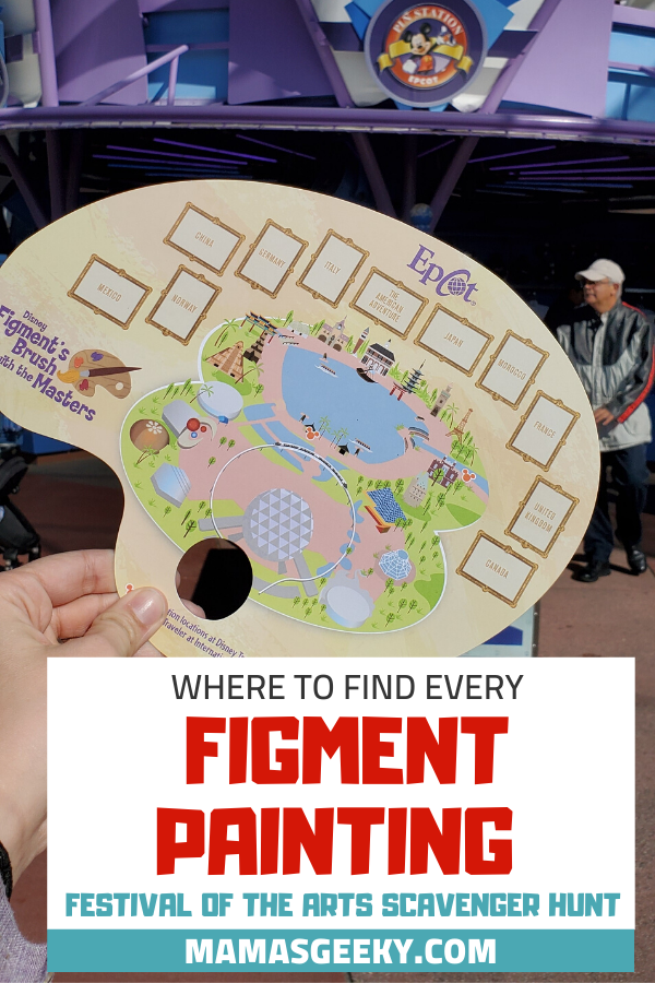 Figment painting scavenger hunt