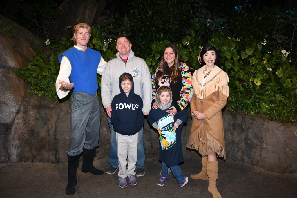 Disney world pocahontas john Smith meet and greet