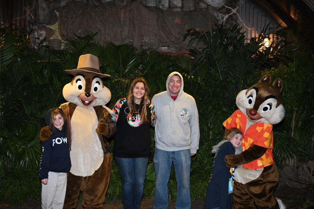 Rescue rangers meet and greet