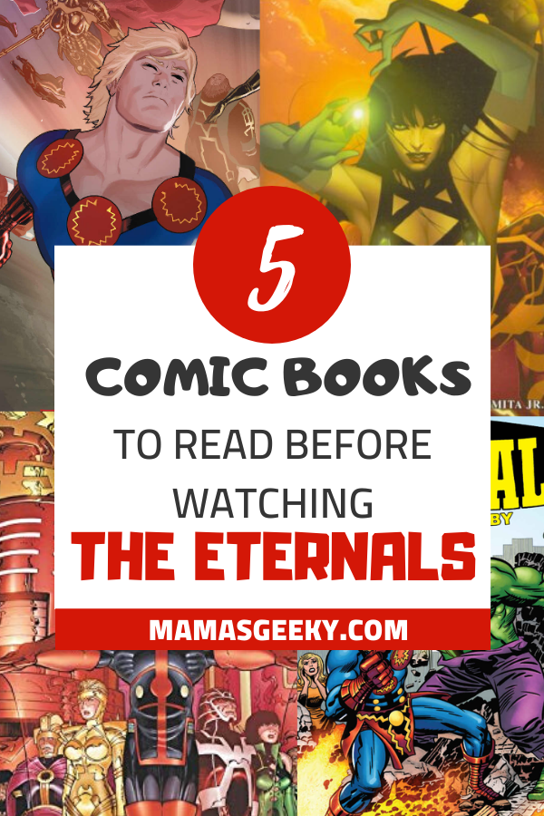 comic books to read eternals