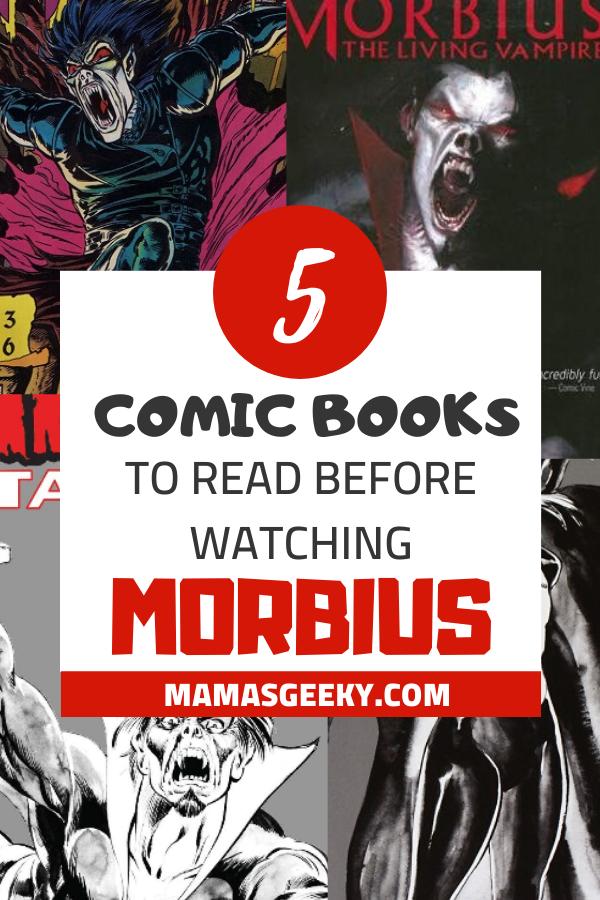 morbius comic books