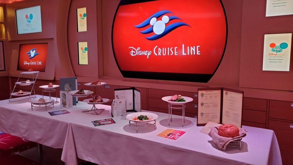 disney cruise line food