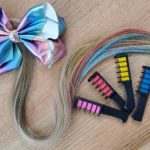 Easy DIY JoJo Siwa Inspired Rainbow Ponytail Extension