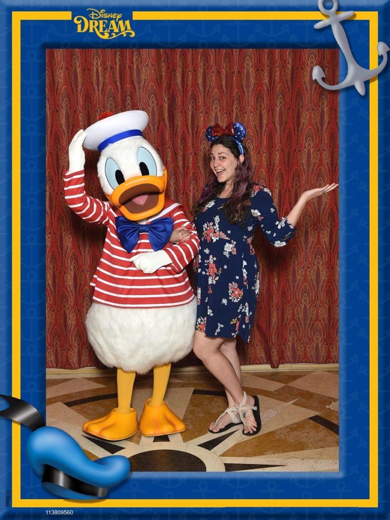 disney cruise donald duck
