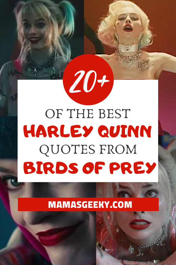 birds of prey harley quinn quotes
