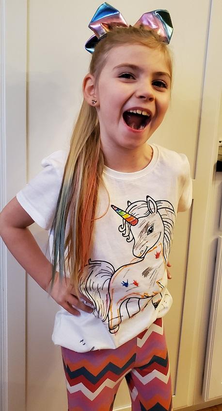 jojo siwa inspired rainbow ponytail bow