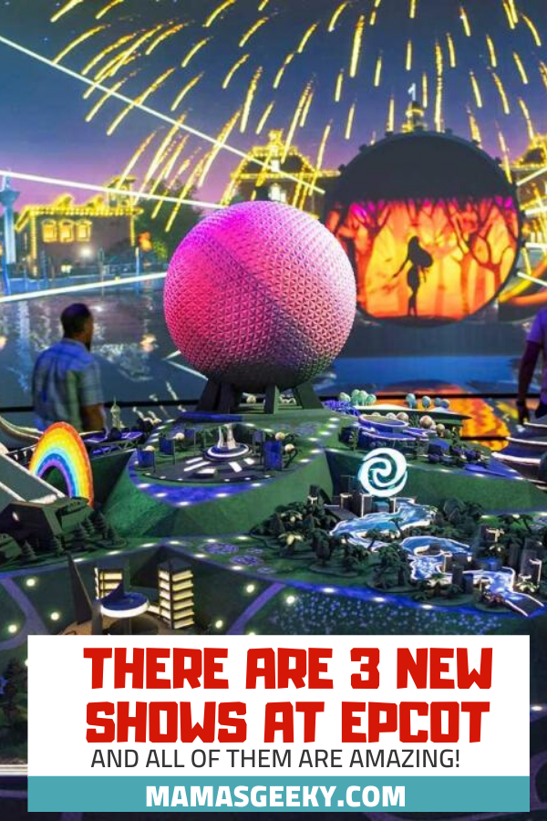 new epcot shows