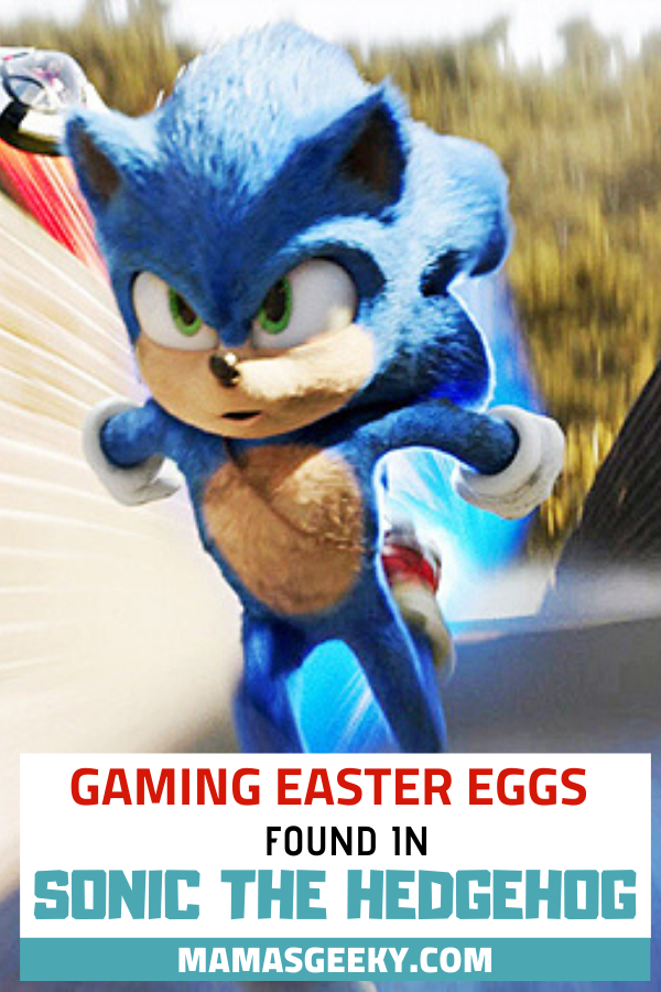 Gaming Easter Eggs Found In The Sonic The Hedgehog Movie