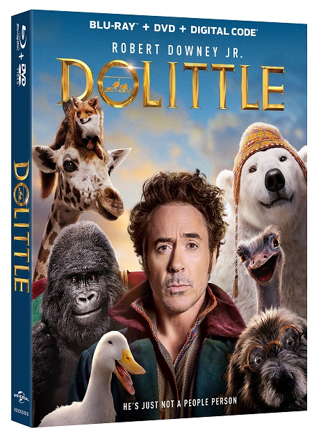 dolittle bluray