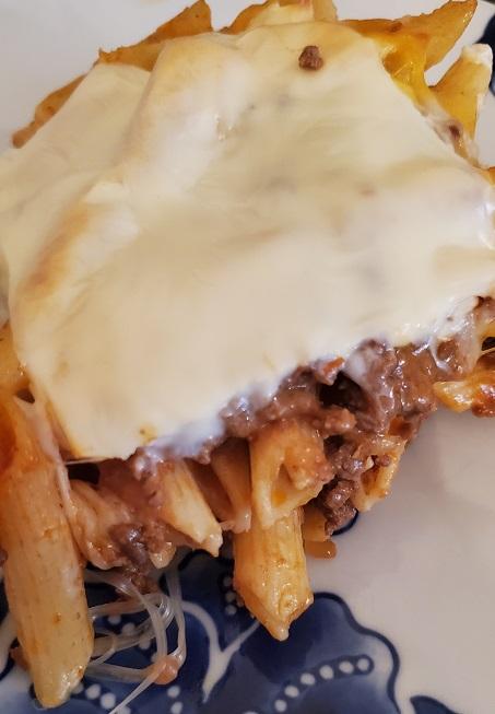 baked pasta beef recipe