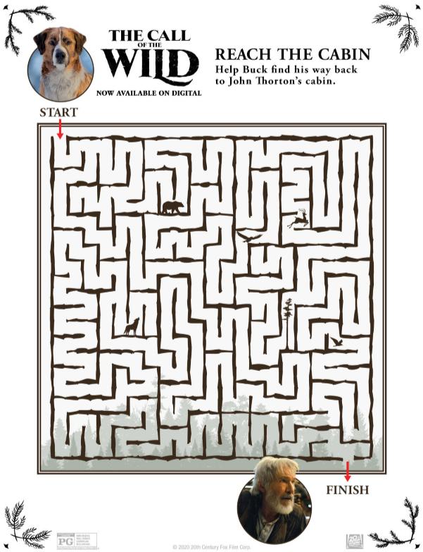 call of the wild maze