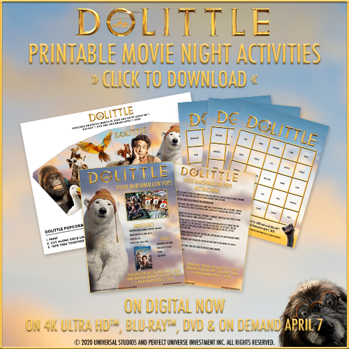 dolittle printable activity sheets