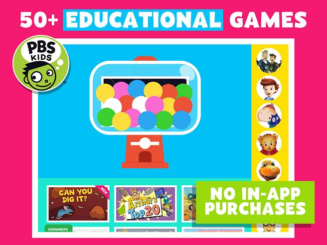 pbs kids educational apps