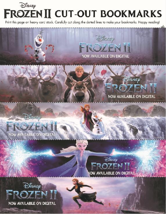 frozen 2 printable activity