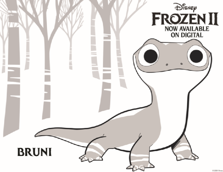 Free Printable Frozen 2 Coloring Pages & Activity Sheets