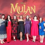 Walking The Carpet At The Mulan World Premiere In LA