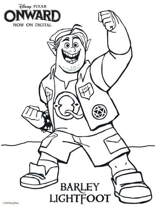 onward coloring page