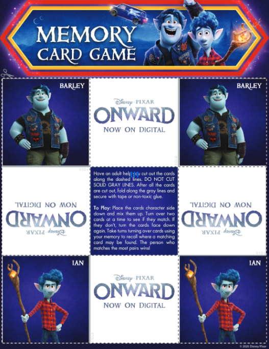 pixar onward memory