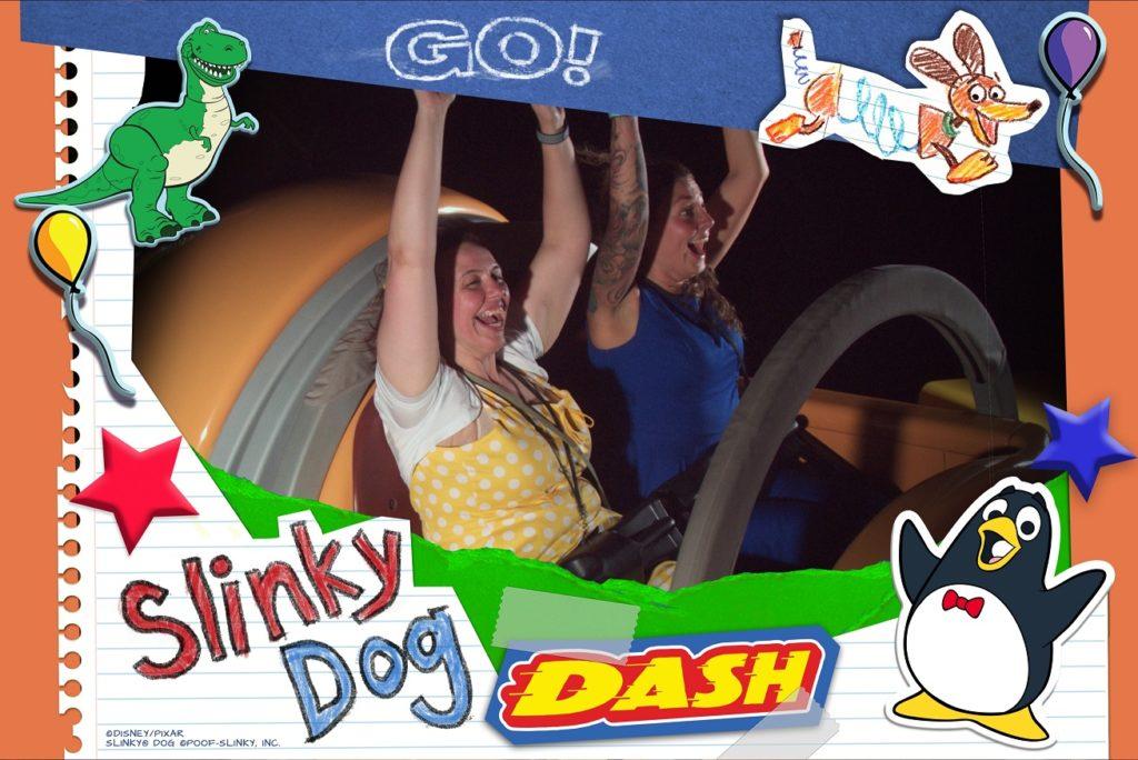 disney ride photo slinky dog dash