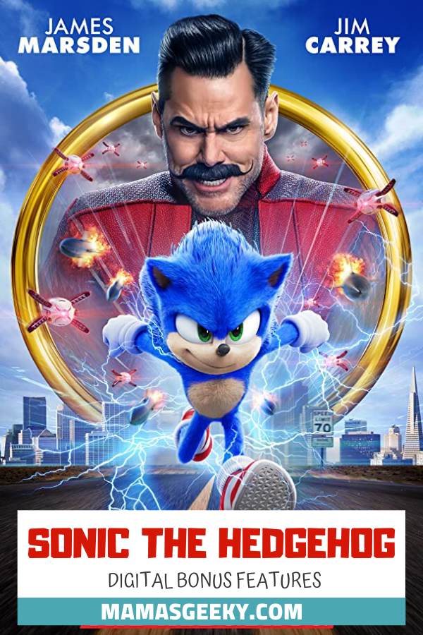 sonic the hedgehog digital bonus features