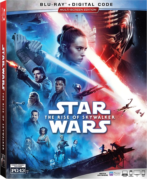 star wars rise of skywalker blu-ray