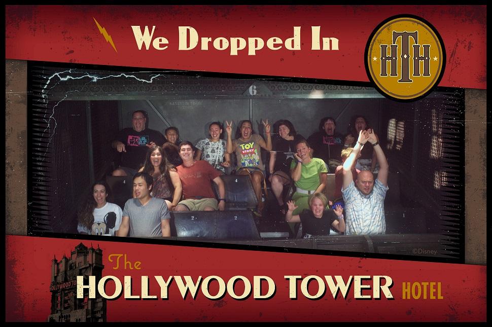 disney ride photo tower of terror