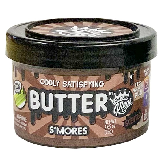 compound kings butter jar
