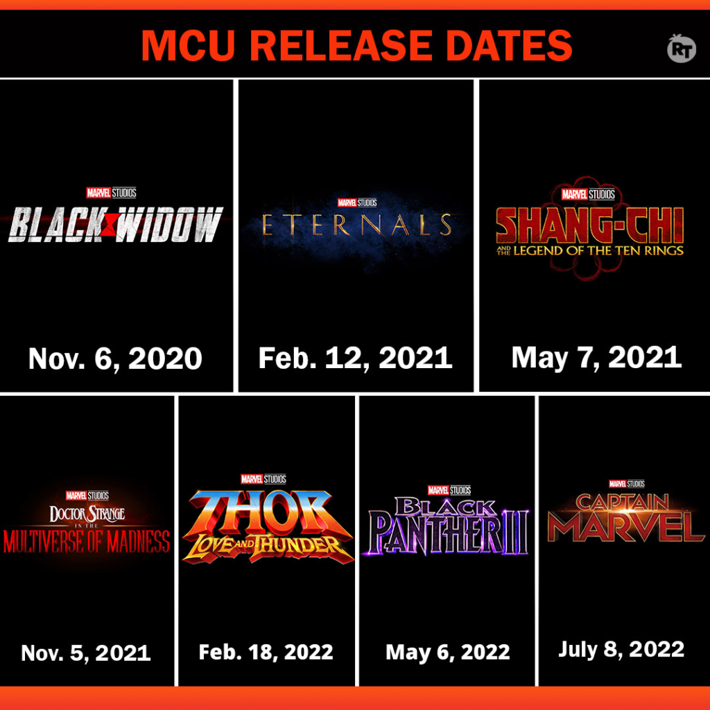 new marvel release dates