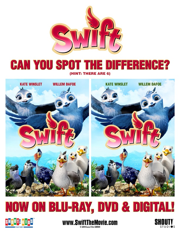 Swift spot the difference