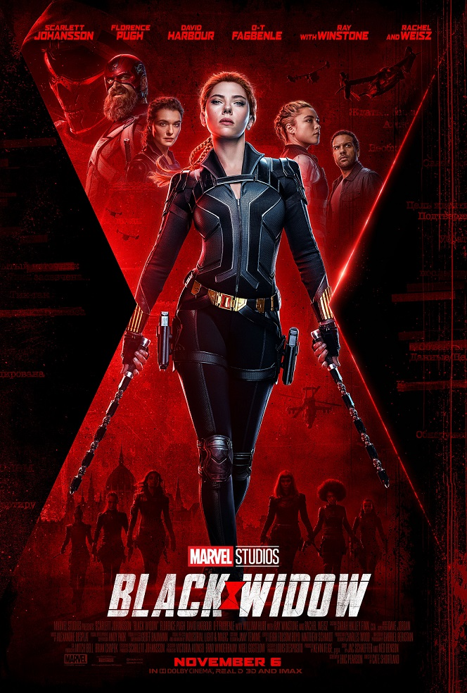 new black widow poster