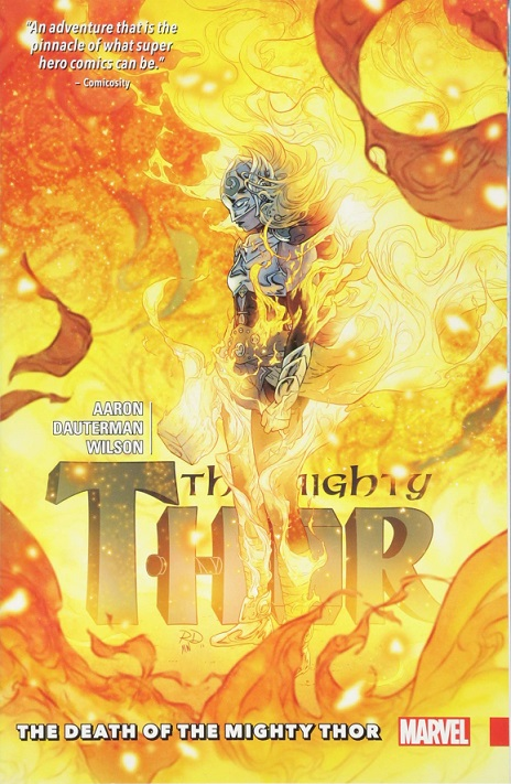 death mighty thor comics