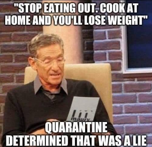 A Collection Of The Funniest Quarantine Weight Gain Memes