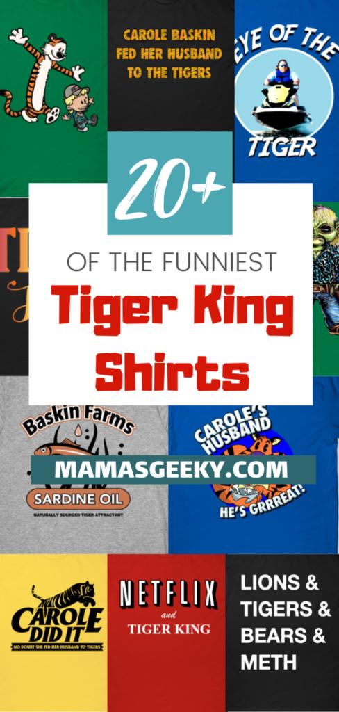 tiger king shirts