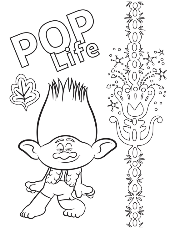 Free Printable Trolls World Tour Party Pack With Activity & Coloring Pages