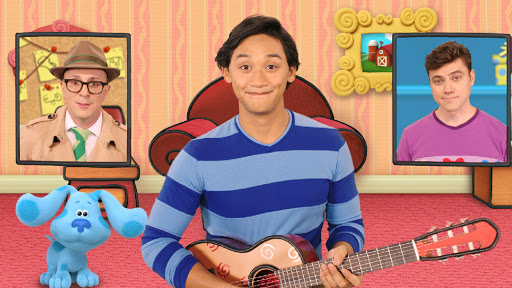 Blue S Clues You New Dvd Giveaway Meet Josh