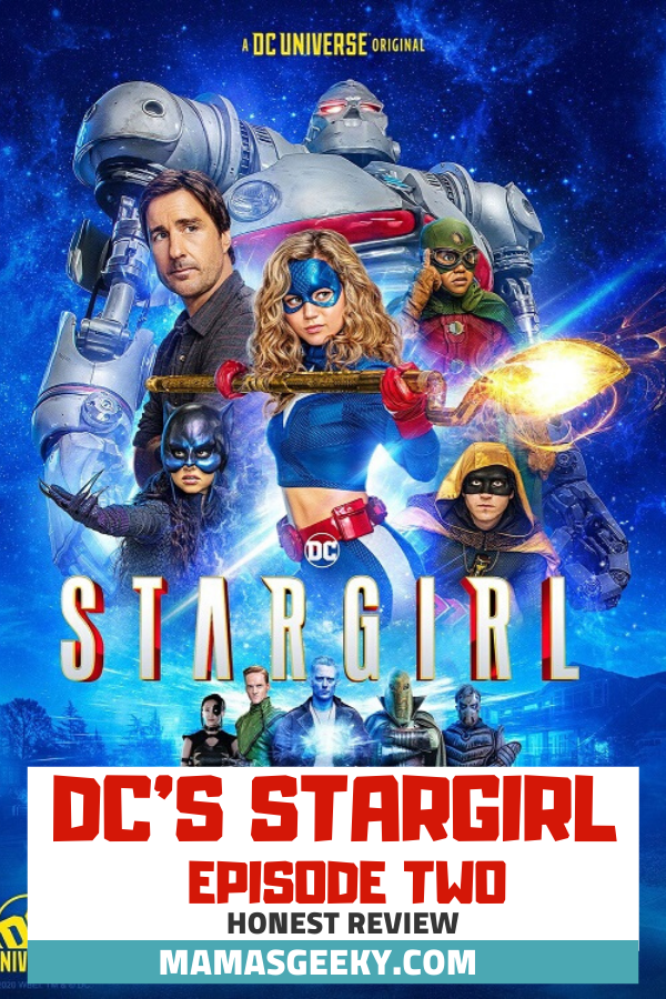 dc's stargirl episode two review
