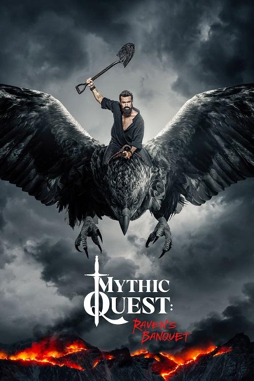 mythic quest raven's banquet poster