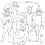 Free Printable SCOOB! Party Pack With Recipes, Activities & Coloring Pages