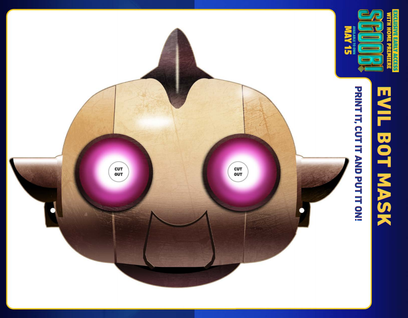 scoob evil robot mask