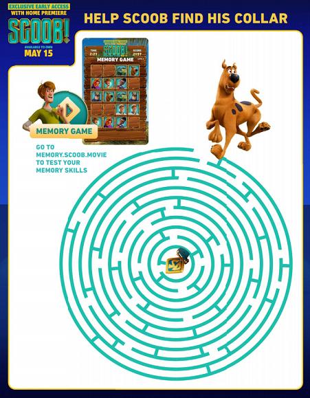 scoob maze