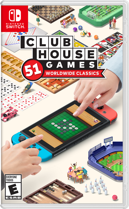 clubhouse games 51 nintendo switch