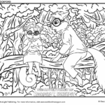 The Adventures of Rockford T. Honeypot Coloring Pages