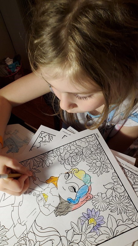 rockford t honeypot coloring pages