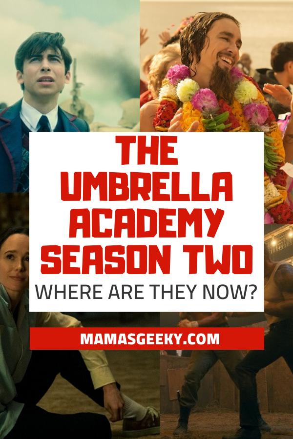 the umbrella academy season 2 where are they