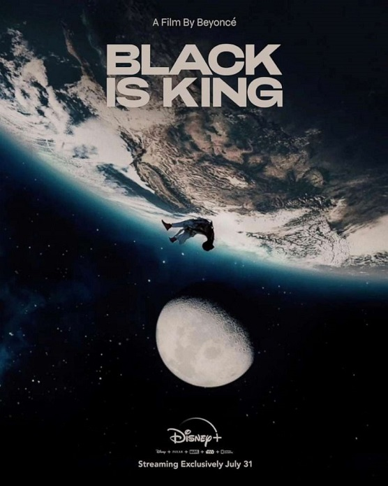 black is king beyonce poster